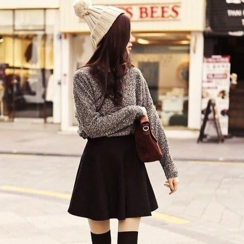 outfit coreano destacado