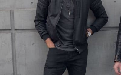 Outfit negro hombre