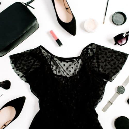 outfit negro portada