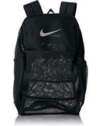 Bagpack negra en mesh