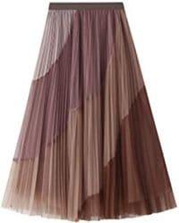 falda plisada f06447b5