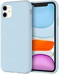 Case azul claro iphone