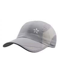 Gorra gris de secado rápido