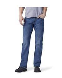 jeans corte recto azul intenso